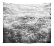 Monochrome Clouds Tapestry