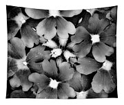 Monotone Bouquet Tapestry