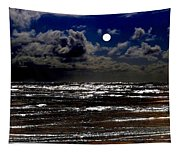 Moon Over The Pacific Tapestry