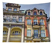 More Posnan Shops - Poland Tapestry