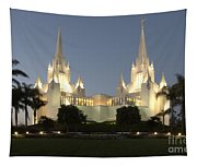 Mormon Cathederal San Diego 2 Tapestry