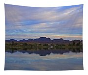 Morning Light On The River Tapestry