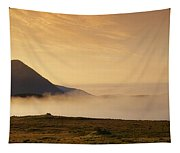 Morning Mist, Connemara, Co Galway Tapestry