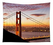 Morning Over San Francisco Tapestry