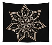 Mosaic Work Of Sepia Art  Tapestry