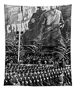 Moscow: Military Parade Tapestry