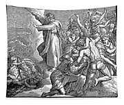 Moses And The Red Sea Tapestry