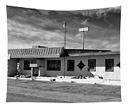 Motel Studios Bw Tapestry