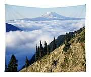 Mount Adams Above Cloud-filled Valley Tapestry
