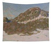 Mount Kolsaas In Sunlight Tapestry