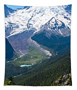 Mount Rainier Xi Tapestry