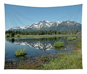 Mount Tallac Sky Projections Tapestry