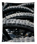 Mountain Bike Tires Tapestry