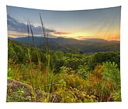 Mountain Evening Tapestry