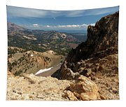 Mountains At Lassen Tapestry