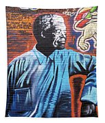 Mr. Nelson Mandela Tapestry