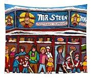 Mr Steer Restaurant Montreal Tapestry