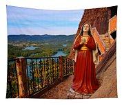 Mujer De La Piedra Tapestry