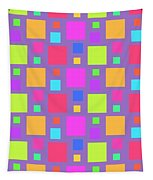 Multicoloured Squares Tapestry