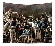 Munkacsy: Strike, 1895 Tapestry