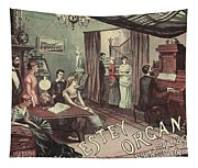 Musical Evening Ad, C1890 Tapestry