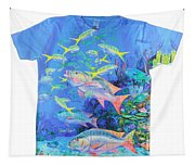 Mutton Snapper Mens Shirt Tapestry
