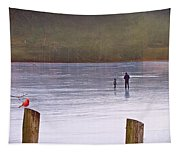 My First Walk On Water Tapestry