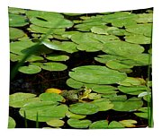 My Pad Or Yours Tapestry