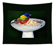 My Painted Bunting Tapestry