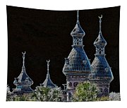 Mysterious Minarets Tapestry