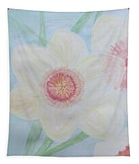 Narcissus Flower Tapestry