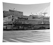 Nathan's Original In Black And White Tapestry