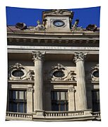 National Bank Of Romania Tapestry
