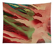 Native Abstract Weave Tapestry
