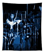 Blue Drums Tapestry