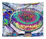Neon Mushroom Tapestry