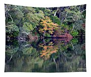 New England Fall Reflection Tapestry