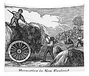 New England: Harvest, 1830 Tapestry