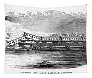New Jersey: Train Wreck Tapestry