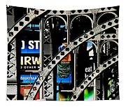 New York Abstract 1 Tapestry