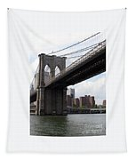 New York Bridges 1- Brooklyn Bridge Tapestry