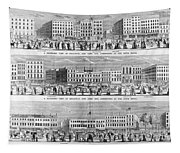 New York: Broadway, 1851 Tapestry