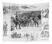 New York: Camp Wikoff, 1898 Tapestry