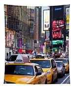 New York Gridlock Tapestry