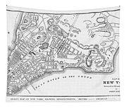 New York: Maps Tapestry