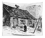 New York: Shanty, 1875 Tapestry
