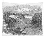 Niagara Falls, 1849 Tapestry