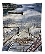 No Fishing Tapestry