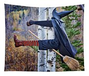No Texting While Flying Tapestry