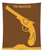 No077 My The Mexican Minimal Movie Poster Tapestry